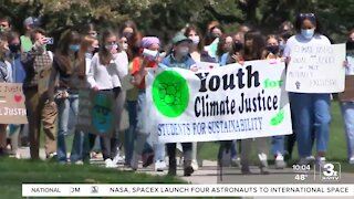 Students march for climate justice