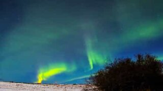 Stunning pictures of Northern Lights in Canada