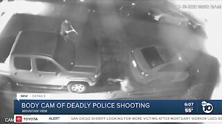 Body cam of deadly Mountain View police shooting released