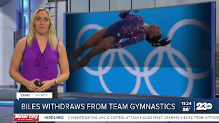 23ABC Sports: Simone Biles opts out of team competition; Rodgers arrives at training camp