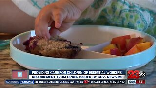 Essential workers childcare