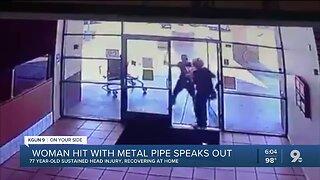 77-year-old retired nurse describes attack at Tucson pizza restaurant