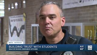 Role of a Mesa police school resource officer abc