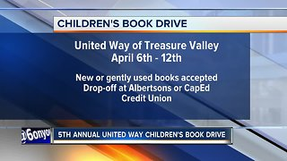 United Way Children's Book Drive