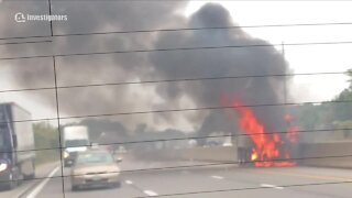 Trucking company from I-480 crash also involved in deadly crash last year