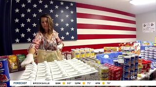 Patriot Pantry helps veterans in need during pandemic | The Rebound Tampa Bay