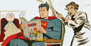 Haircuts in the Comic Book world by Graphic Man