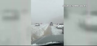 Crazy weather in parts of the southwest US today