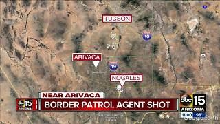 Border Patrol agent shot in Arizona