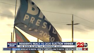 Bakersfield residents react to 2020 election winner