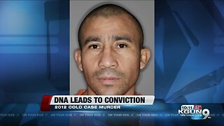 DNA evidence leads to conviction in 2012 cold case murder