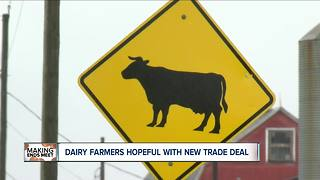 Wii new trade agreement save U.S. dairy industry?