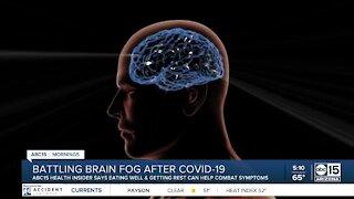 Battling brain fog after COVID-19