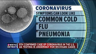 5th confirmed case of Coronavirus in the U.S.