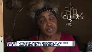 Man injured in officer-involved shooting on Detroit's west side