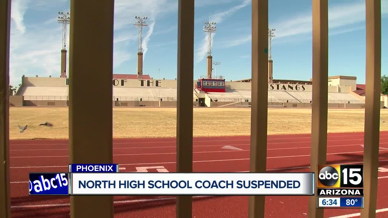North High School football coach on leave during investigation