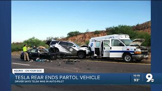 DPS: Driver injured after ramming into patrol car