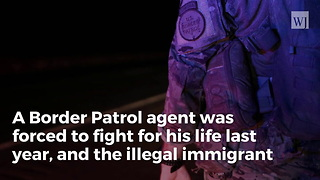 Illegal Imprisoned After Attempting to Drown Border Patrol Agent