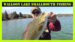 Walloon Lake Smallmouth Fishing Northern Michigan