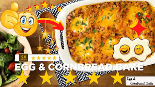 Delicious egg and cornbread bake recipe