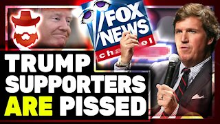 Donald Trump Supporters TURN ON Tucker Carlson After His DEMANDS Of Sidney Powell