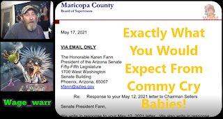Maricopa County Board of Supervisors response Letter