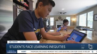 Students face learning inequities