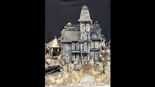 Addams family dollhouse project