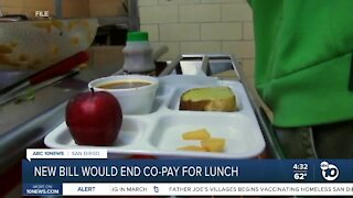 New bill could eliminate cost of school lunch