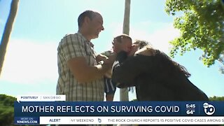 San Diego mother reflects on surviving COVID-19 one year later