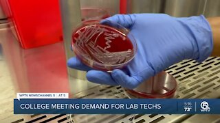 Indian River State College fills critical need for medical laboratory professionals