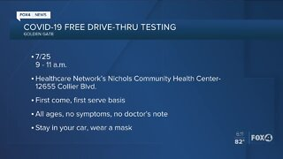 Cape Coral testing site reopens