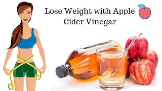 Lose Weight Naturally with Apple Cider Vinegar