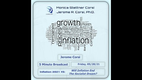 Corstet 5 Minute Overview: Inflation 2021 #5 - Will Inflation End The Socialist Dream?