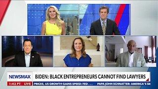 Biden: Black Entrepreneurs Cannot Find Lawyers