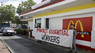 McDonald's Workers Strike Over COVID-19 Concerns