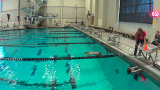 Guy Swims 40 yards under water NO BREATHING
