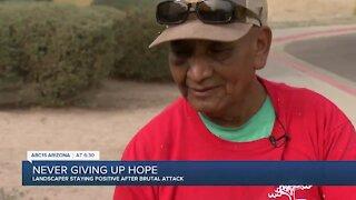 Landscaper inspiring resilience after brutal attack in Avondale