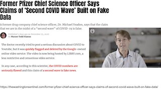 Former Pfizer Chief Science Officer Says Claims of 'Second COVID Wave' Built on Fake Data