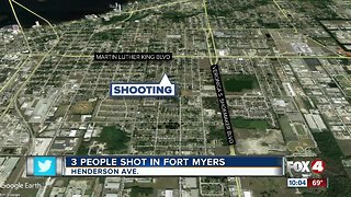 3 people shot in Fort Myers
