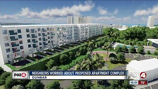 Neighbors worried about proposed apartment complex
