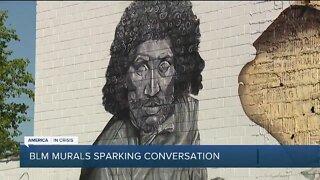Black Lives Matter mural sparking conversation