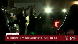 Authorities investigate shooting in south Tulsa