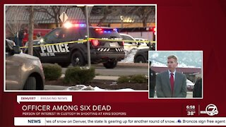 Officials confirm one Boulder police officer killed in King Soopers shooting