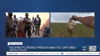 Escaped Florence prison inmates captured