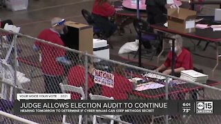 Judge allows Maricopa County election audit to continue