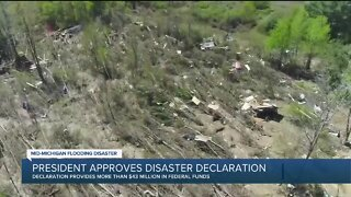 President Trump approves disaster declaration