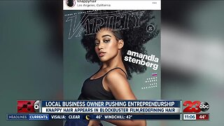 Local business redefining black hair, featured in blockbuster film