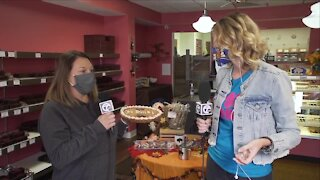 NATIONAL SPONGE CANDY DAY AT PARK EDGE SWEET SHOPPE - PART 1