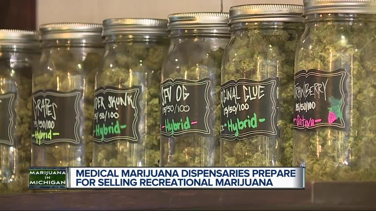 Medical marijuana dispensaries prepare for selling recreational marijuana